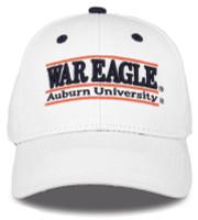 The Game Auburn University Tigers 'War Eagle' Bar Adjustable Snapback Cap –White