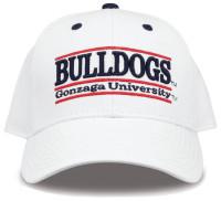The Game Gonzaga University Bulldogs Embroidered Bar Adjustable Snapback Cap