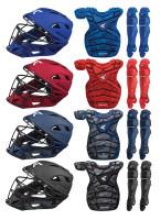 Easton Men's M10 Adult Baseball Catchers Protective Gear Set - Camo Print