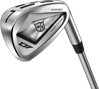 Wilson Staff D7 Forged Steel Iron Set (7) Golf Clubs 4-PW MRH Tour 80 Right Hand