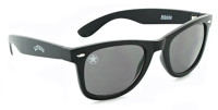Optic Nerve Houston Astros Ribbie Sunglasses – Black Frame With Black Lenses