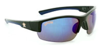 Optic Nerve Houston Astros Hot Corner Sunglasses, Black Frame & Mirrored Lenses