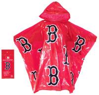 Storm Duds Boston Red Sox Lightweight Stadium Adult Adjustable Hood Rain Poncho