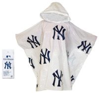 Storm Duds New York Yankees Lightweight Adult Adjustable Hood Rain Poncho