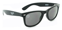 Optic Nerve Minnesota Twins Ribbie Sunglasses – Black Frame With Black Lenses