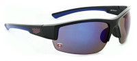 Optic Nerve Minnesota Twins Hot Corner Sunglasses, Black Frame & Mirrored Lenses