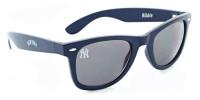 Optic Nerve New York Yankees Ribbie Sunglasses – Navy Blue Frame & Black Lenses