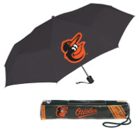 Storm Duds Baltimore Orioles Super Mini 42 inch Coverage Folding Umbrella