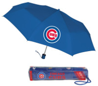 Storm Duds Chicago Cubs Super Mini 42 inch Coverage Telescoping Folding Umbrella