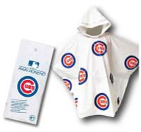 Storm Duds Chicago Cubs Lightweight Stadium Adult Adjustable Hood Rain Poncho