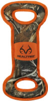 Pets First Realtree Dual Handled Tough Nylon & Squeaker Dog  Tug Toy - Camo