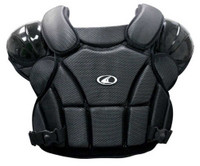 Champro Pro-Plus Umpire Chest Protector Tri-Dri Baseball Softball Black CP1