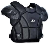 Champro Pro-Plus Umpire Chest Protector Tri-Dri Baseball Softball Black CP1