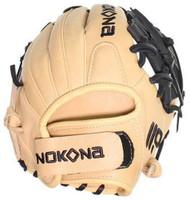 "Nokona SKN Series Fastpitch Softball Glove 11.5"" Elite Middle Infield I Web RHT"