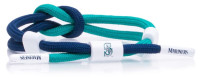 Rastaclat Baseball Seattle Mariners Outfield Knotted Bracelet – Green & Navy
