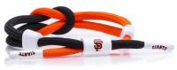 Rastaclat Baseball San Francisco Giants Outfield Knotted Bracelet – Black/Orange