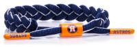 Rastaclat Baseball Houston Astros Infield Braided Bracelet – Blue/White/Orange