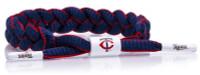 Rastaclat Baseball Minnesota Twins Infield Braided Bracelet – Blue/Red/White