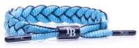 Rastaclat Baseball Tampa Bay Rays Infield Braided Bracelet - Navy & Light Blue