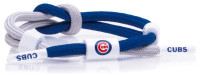 Rastaclat Baseball Chicago Cubs Outfield Knotted Bracelet – Blue/Gray/White