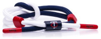 Rastaclat Baseball Minnesota Twins Outfield Knotted Bracelet – Blue & White