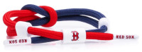 Rastaclat Baseball Boston Red Sox Outfield Knotted Bracelet – Red/White/Blue