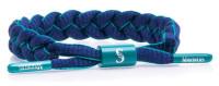 Rastaclat Baseball Seattle Mariners Infield Braided Bracelet – Green & Navy