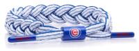 Rastaclat Baseball Chicago Cubs Infield Braided Bracelet – White and Blue