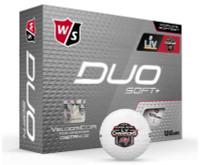 Wilson DUO Soft+ NFL Super Bowl LV Tampa Bay Buccaneers Golf Balls (12-pack)