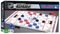 MasterPieces NHL New York Rangers Collectible Classic Checkers Board Game Set