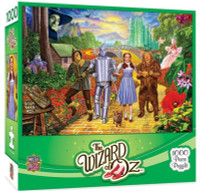 """MasterPieces The Wizard of Oz """"Off to See The Wizard"""" 1000 Piece Jigsaw Puzzle"""