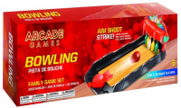 Maccabi Art Portable Arcade Bowling Alley Game For Kids, Adults and Family