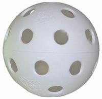 JUGS Bulldog 9-In White Poly Baseball Hole Balls'. 100 Count. B6006