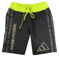 Adidas Men's Daniel Patrick & James Harden 3-Stripes Shorts – Black/Solar Yellow