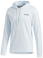 Adidas Men's Essentials Lightweight Pullover Hooded Sweatshirt Sky Tint/Royal