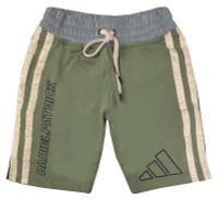 Adidas Men's Daniel Patrick & James Harden 3-Stripes Shorts Legacy Green/Linen