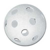 CHAMPRO 9 Inch Hole Balls Baseball/Softball Practice Plastic White 12Pk CBB-51D