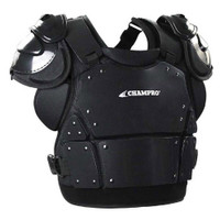 Champro Pro-Plus Umpire Chest Protector Plate Armour Baseball Softball Black