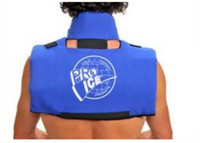 Pro Ice Scapula/Cervical Collar. Cold Therapy Wrap Ultimate Pain Relief. PI100