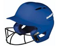 Demarini Paradox Pro Batting Helmet Fastpitch Softball W/ SB Mask WTD5421