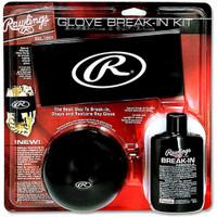 Rawlings Baseball/Softball Glove Break-In Kit, 4 Piece Kit BRKIT