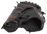 "Under Armour ADULT Pro Series 34"" Catchers Baseball Mitt, Black/Red. UACM-PRO1"