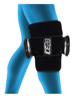 Ice20 Double Knee Compression Therapy Ice Wrap - SAP_4537