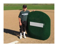 "Portolite 4"" High Portable Baseball Pitching Mound 46""x48""x4""H TPM-4468"