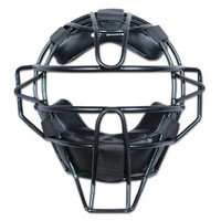 Champro Adult Solid Baseball Umpire Face Mask Ergo Fit Pads 27 oz. Black CM63B