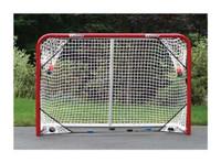 EZGoal 4' x 6' Folding Hockey Goal with Targets 67109