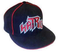 Hatric Hockey Mystery Uni-Fit Flat Bill Urban Baseball Cap, Black