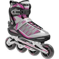 Roces Women's Argon Sporty Inline Skates, Black/Magenta. 400768-00001-10