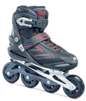 Roces Men's IZI Sporty Fitness Inline Skates Blades Black-Charcoal. 400799 00001