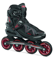 Roces Mens Gymnasium 2.0 M Fitness Inline Skates Blades Black/Red 400803
